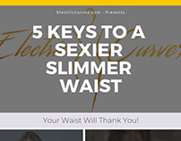 5 Tips to A Sexier Slimmer Waist [INFOGRAPHIC]