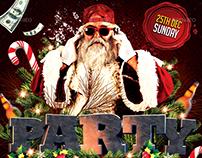 Party Santa Flyer | Artwork
