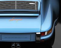 Porsche Museum - 911 by Singer