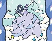 Illustration for goods of singer RieFujishiro.(2018)