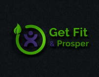 Logo design for Get Fit & Prosper