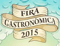 Gastronomic Fair Poster - 2015