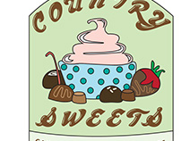Country Sweets Logo