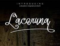 LACORUNA Typeface