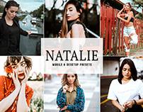 Free Natalie Mobile & Desktop Lightroom Presets