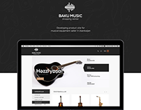 Baku Music website