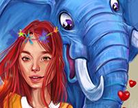 my elephant & me