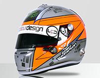 Gary Thompson 2015 Arai GP6-RC Helmet