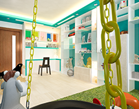 INTERIOR FOR CHILD STUDY & PLAAYZONE