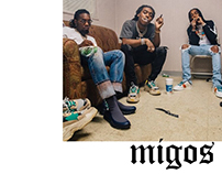 rappers posters - migos