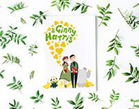 Ginny & Harris Wedding