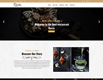 Resto - Drupal Restaurant Theme