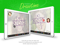 Kindoma: Video Chat & Drawing App for kids