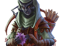 Madra Greyskin - CharacterArt for Wayfinder#15
