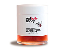 RED BELLY HEMP HONEY