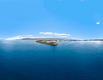 Pano in Volo Porto Messina