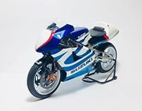 Suzuki RGV XR89 1:12 Scale (Full body paint)