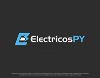 Logo Design for a Electric Vehicle Blog ElectricosPY