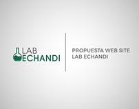 Propuesta Web Site Lab Echandi