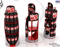 Next Cola Gondola / POP Display Stand