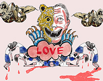 Killer Love - illustration editorial