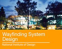 Wayfinding System Design -National Institute of Design