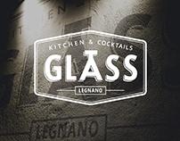Branding for Glass restaurant in Italy
