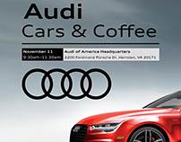 Audi Cars & Coffee Flyer