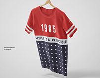 T-shirt Mockup Set 01