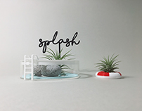 3D printing x Air plants_swimming pool KIT