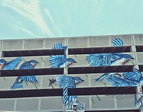 Parking Garage Mural project