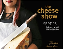 The Cheese Show 2016 Poster