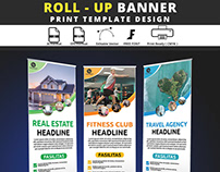 rool - up banner template vol 1