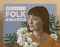 RTÉ Radio 1 Folk Awards | Art Direction & Branding