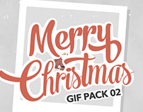 Merry Christmas GIF Pack