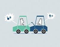 AXA SmartDrive campaign