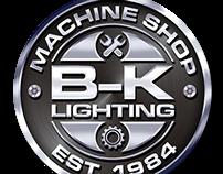 B-K Lighting Machine Shop Logos