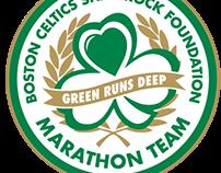 Boston Celtics Shamrock Foundation Marathon Team Logo