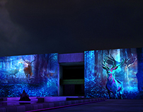 Interactive Projection Art for INAH