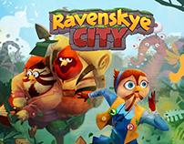 RavenSkye City Concept Art
