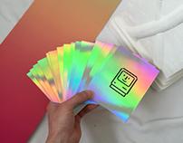 Susan Kare Holographic Prints