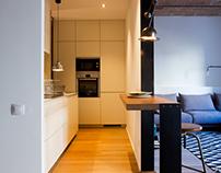 Restoration + Interior design Arago flat Barcelona