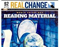 Real Change News Illustration