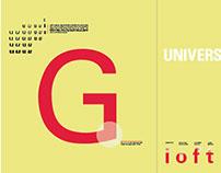 Font Study: Univers