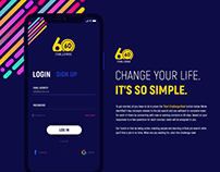 60 Days 60 Challenges | Mobile Application | Web Page