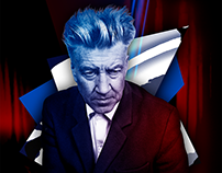 Magazine cover. David Lynch.