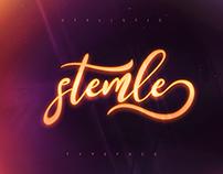 [Free Font] Stemle Stylistic Font