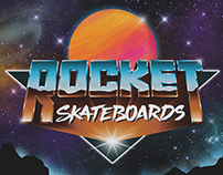 ROCKET SKATEBOARDS - LOGO SERIES