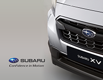 Subaru - the safest   Landing Page