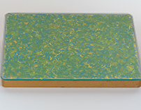 Paintings with glass cover, 1994